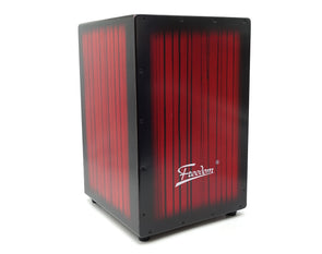 Cajon Box Drum Wooden Percussion Box 30x46cm with Padded Case DB01-RED