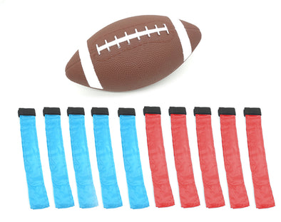 10 Player Tag Football Set Gridiron American Football S749