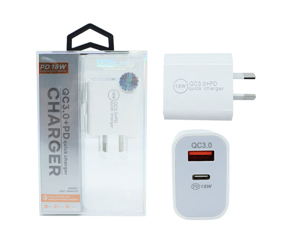 18W Quick Charger Type-C Fast Charge Power