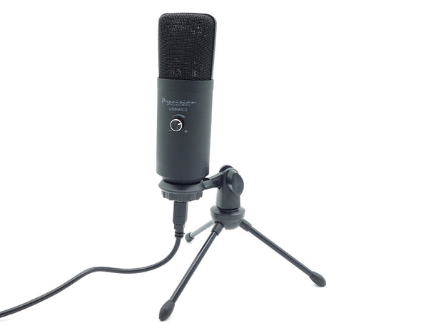 USB Microphone 2 Podcast Recording Studio Stand Volume Control USBMIC2