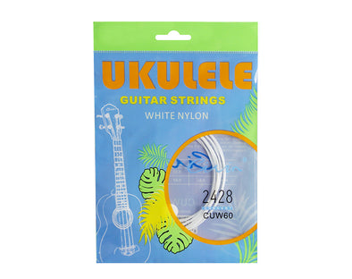 Ukulele Strings White Nylon AECG Guitar CUW60
