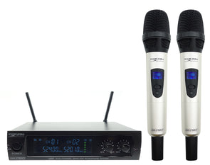 Vocal UHF Dual-Channel Wireless Microphone System W1.Pro