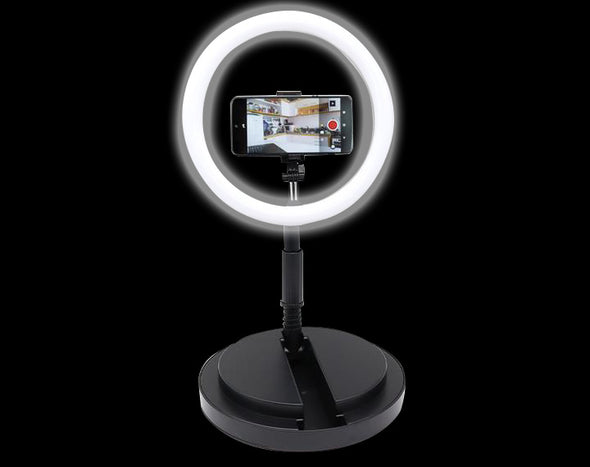 29cm Fill Light Ring Stand Photo Video Conference Chat Selfie Y2