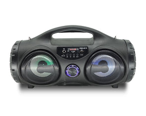 Bluetooth Party Speaker with FM Radio Flashing Lights ZQS4215