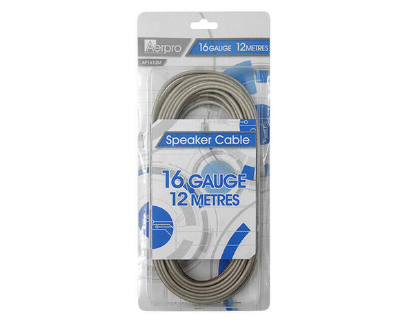Aerpro 16 Gauge Speaker Cable 12m Soft Flex SSPK12