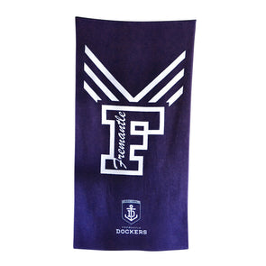 Fremantle Dockers AFL Beach Towel