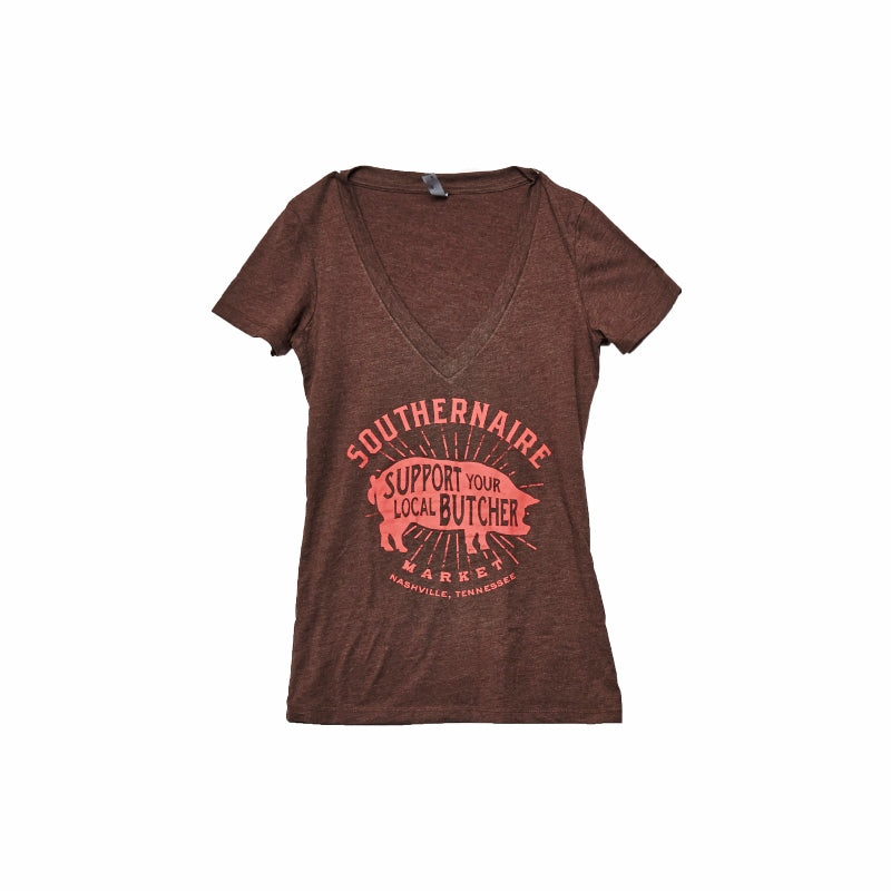 Women's Support Your Local Butcher Shirt