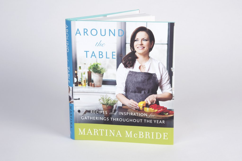 Around the Table Martina McBride Cookbook