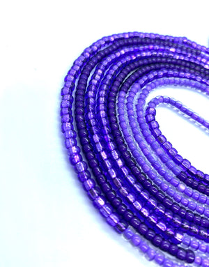 Purple Haze Waistbeads