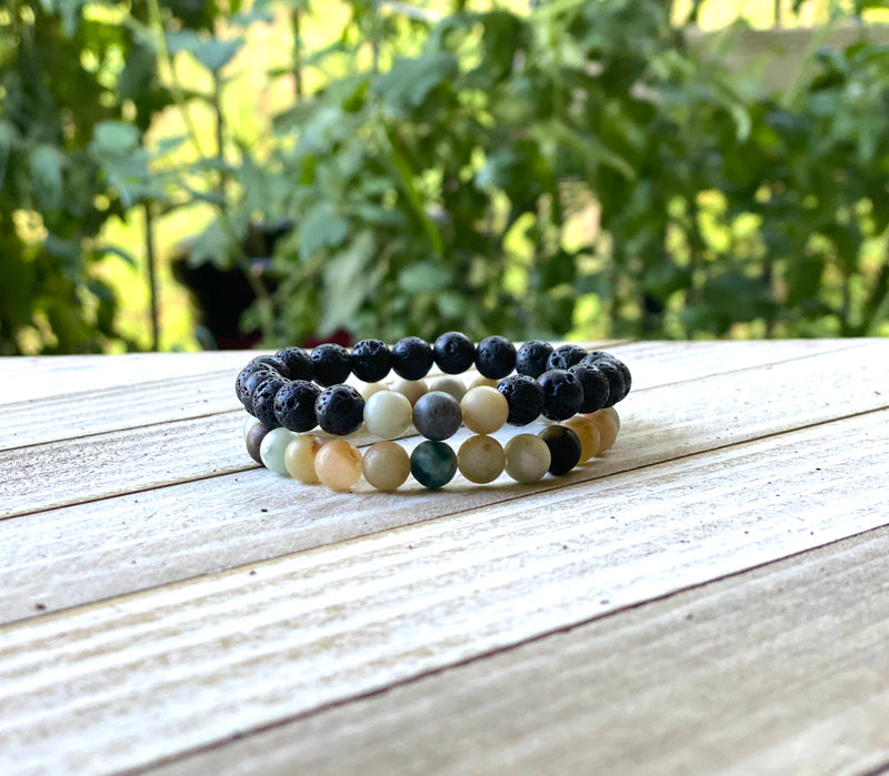 Amazonite Energy Bracelet Set