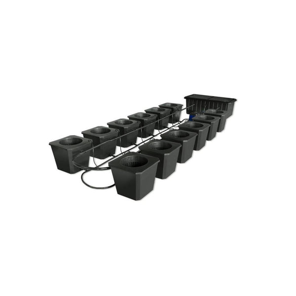 SuperCloset 12-Plant BubbleFlow Buckets Indoor Hydroponic Grow System