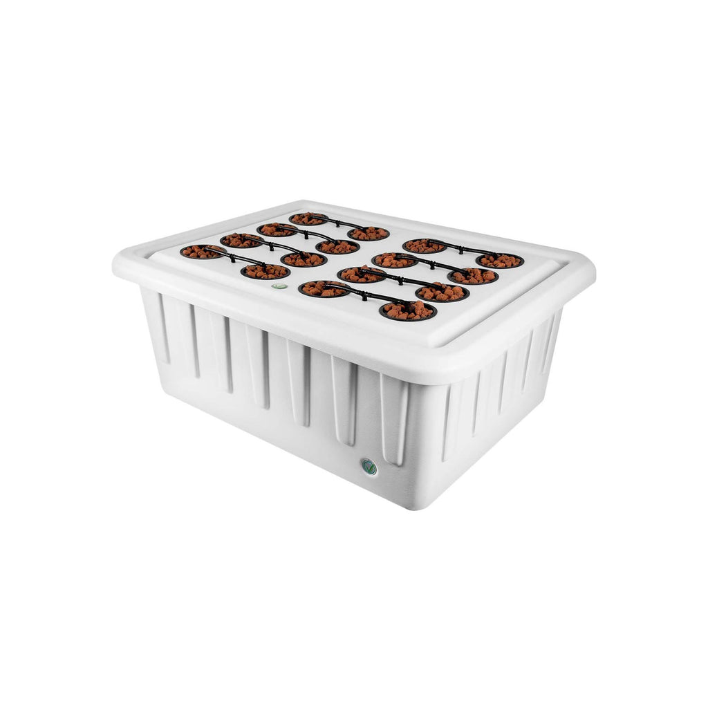 SuperCloset SuperPonics 16-Plant Complete Hydroponic Indoor Grow System