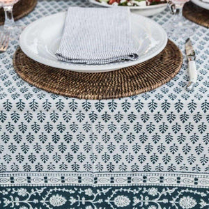 elegant tablecloth