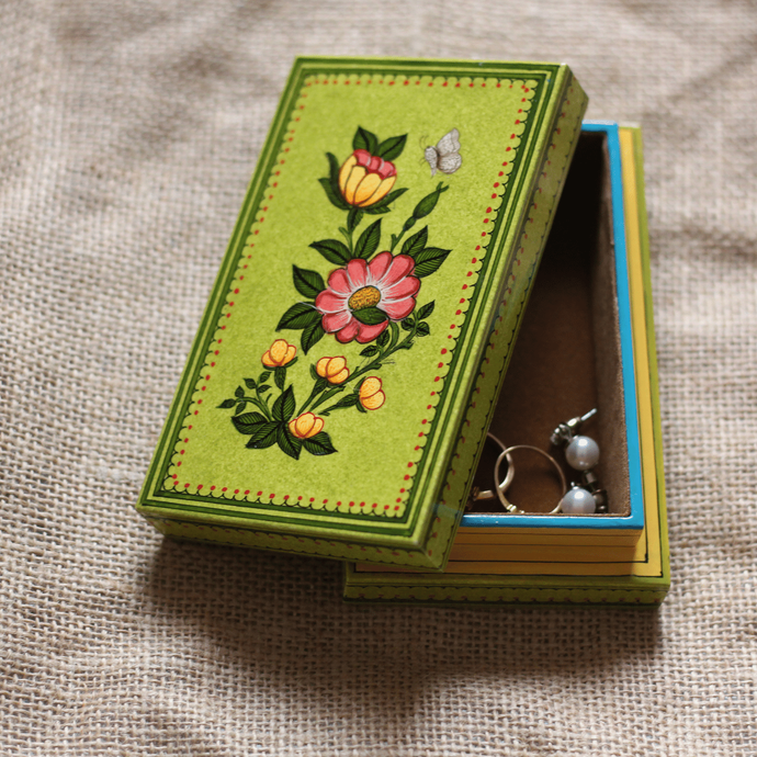Wooden Jewelry Box - 5