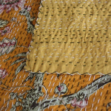 Load image into Gallery viewer, indian kantha bedspread