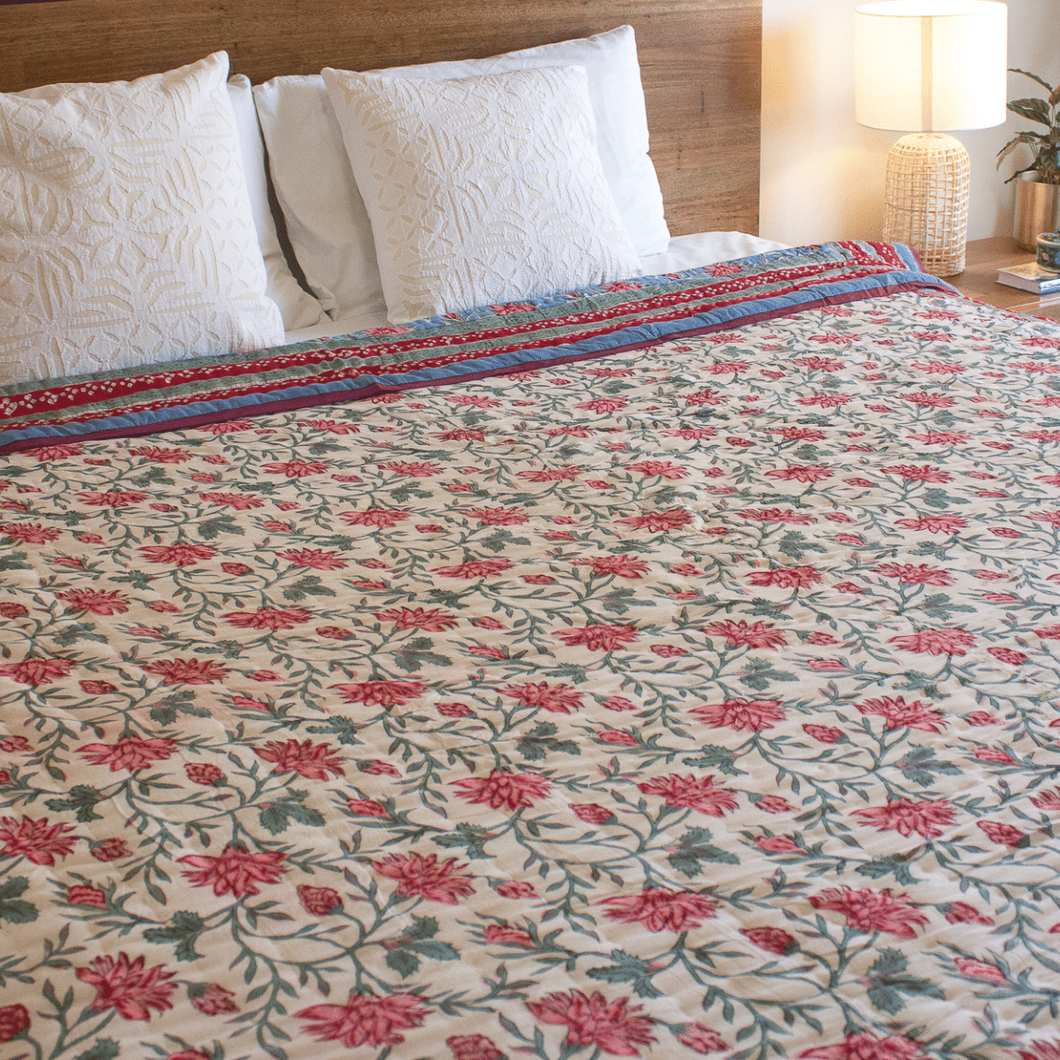 indian cotton quilt