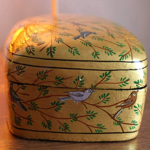 Paper Mache Trinket box - Large - Decor Mantra