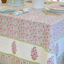 Load image into Gallery viewer, pink tablecloth