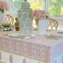Load image into Gallery viewer, Spring Blossoms Square Tablecloth 180 x180 cm/ 71 inches ©