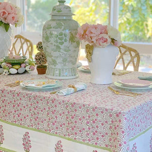 Spring Blossoms Square Tablecloth 180 x180 cm/ 71 inches ©
