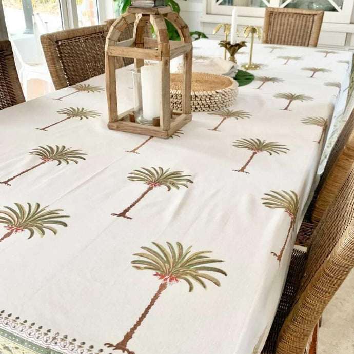 tropical tablecloth