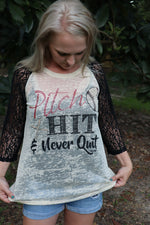 Pitch, Hit & Never Quit Baseball