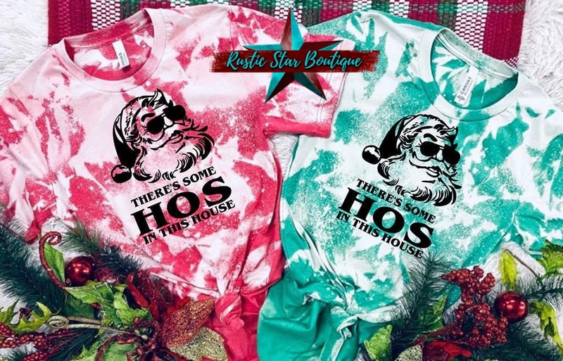 There's Some Ho's In This House DTG Custom Tee