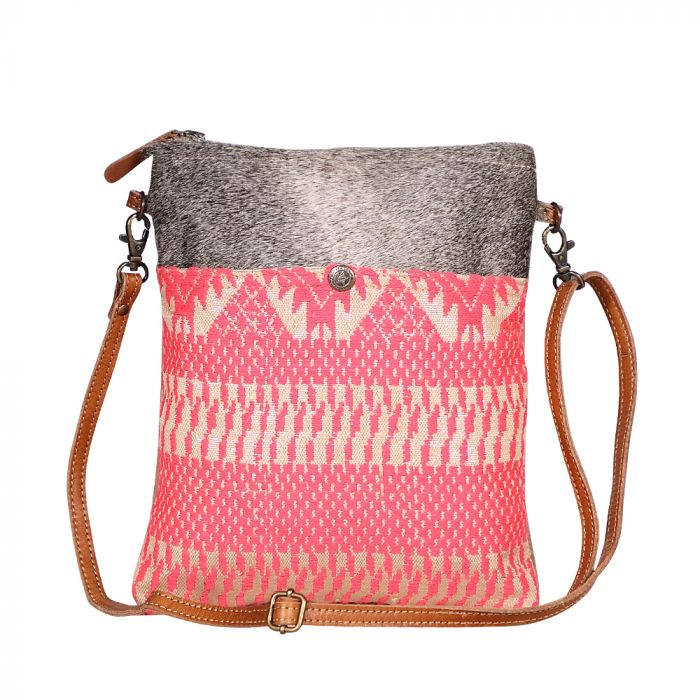 Pink Petals Small And Crossbody Bag