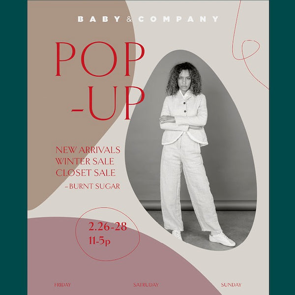Baby & Co Winter Pop-Up, Save the Date