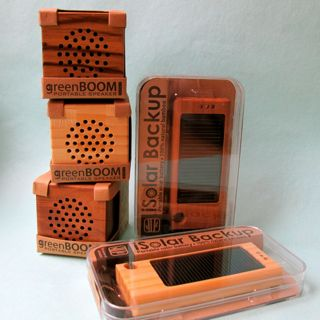 Wood phone cases and speakers