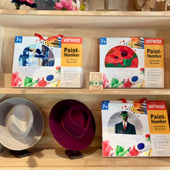 Wool Felt Hats and Paint-by-Number