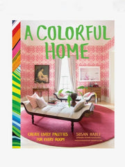 A Colorful Home Hardcover Book
