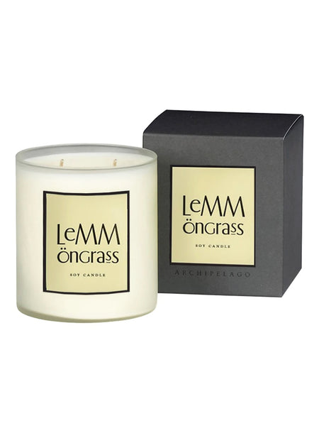 Archipelago Lemongrass Boxed Candle