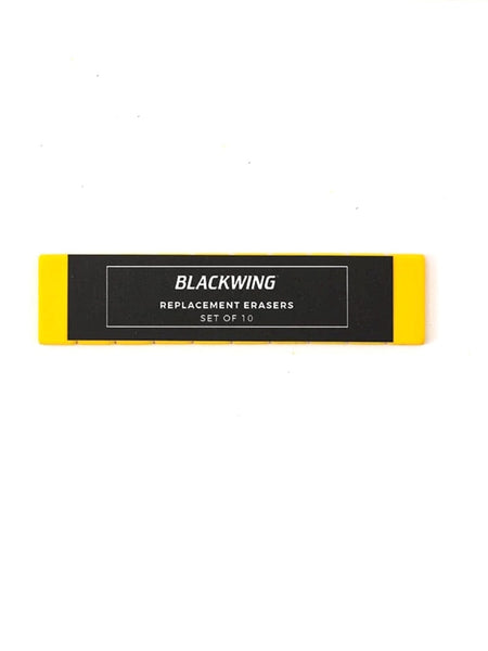 Blackwing Replacement Erasers Set of 10