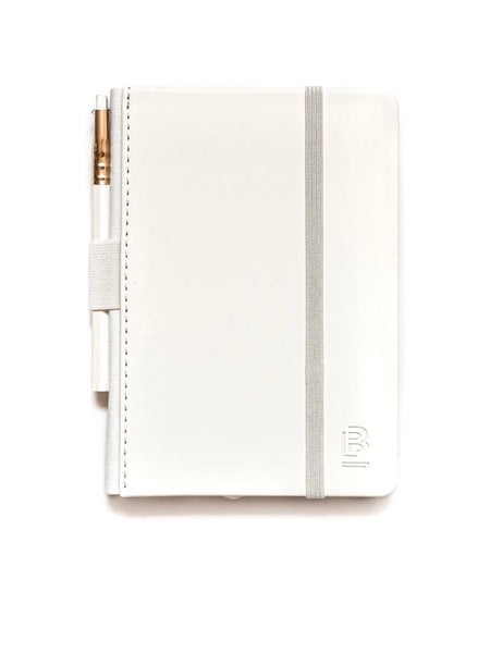 Blackwing Small Slate White Notebook in Dot Grid