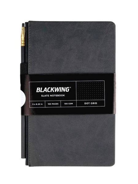 Blackwing Slate Black Notebook in Dot Grid