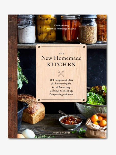 The New Homemade Kitchen Hardcover Cookbook