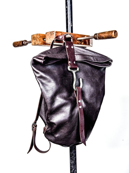 Dean B37 Hook Backpack in Brown Leather
