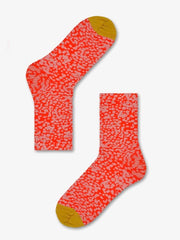 Happy Socks Charlie Ankle Socks in red and yellow