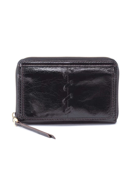 Hobo Elm Wallet in Black Leather