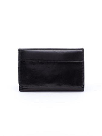 Hobo Jill Wallet in Black Leather