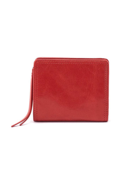 Hobo Reen Wallet in Brick Leather