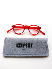 IZIPIZI Reading Glasses in #A Red Crystal