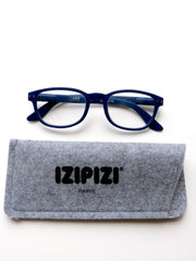 IZIPIZI Reading Glasses in #B Navy Blue