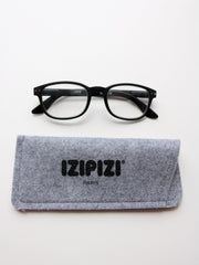 IZIPIZI Reading Glasses in #B Soft Black