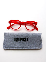 IZIPIZI Reading Glasses in #C Red Crystal