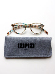 IZIPIZI Reading Glasses in #A Blue Tortoise