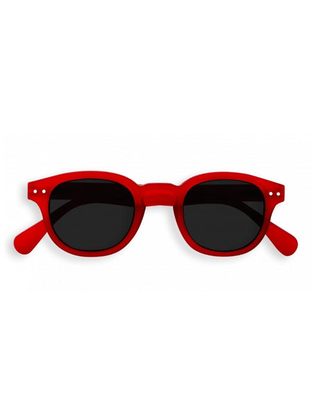 IZIPIZI Sunglasses in #C Red Crystal