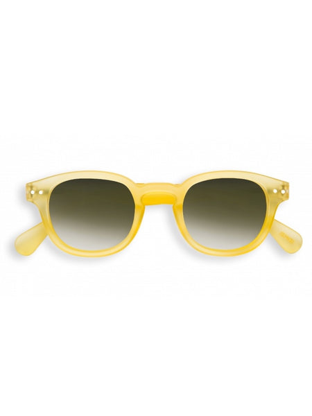 IZIPIZI Sunglasses in #C Yellow Chrome