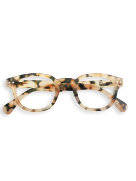 IZIPIZI Reading Glasses in #C Light Tortoise